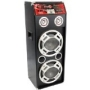 PYLE-PRO PADH1024A Powered Digital USB/SD Card Reader Speaker System with Built-in Flashing Lighting
