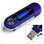 Micropix- Blue 2GB MP3 MUSIC PLAYER WITH LCD SCREEN FM RADIO AND VOICE RECORDER