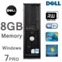 Power PC Dell OptiPlex Core 2 Duo 8GB 1TB with Dell Monitor - WiFi Genuine Windows 7 - DVD