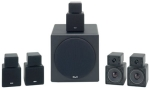 KLH HTA-4906 6-Piece 550-Watt Twisty Home Theater System (Discontinued by Manufacturer)