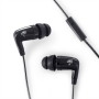 MEElectronics CX21P-BK In-Ear Headphones with In-Line Microphone/Remote for iPod, iPhone and Smartphones (Black)