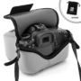 USA Gear DuraNeoprene dSLR Grey FlexArmor for NIKON D7000 / D3200 / D3100 / D3000 **Includes Accessory Bag!**