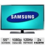 Samsung UN55EH6030 55 inch 120hz 3D 1080p LED HDTV (2 Glasses included)