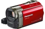Panasonic S70 Flash Camcorder - Red