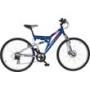 Raleigh Yukon 26 Inch Dual Suspension Mountain Bike - Mens