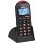 Binatone Big Button BB 200 Mobile Phone - Sim Free Phone with Talking Numbers and Panic Button - BLACK COLOUR