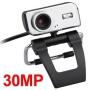 PC Laptop USB 30.0 Mega HD Webcam Video Web Cam Camera