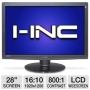 IH283HPB 28 Class Widescreen LCD HD Monitor - 1920 x 1200 16:10 800:1 Native 3ms HDMI DVI-D VGA I-Inc IH283HPB 28 Class Widescreen LCD HD Monitor - 19