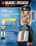 Black Decker 7Speed Professional Series Blender Black