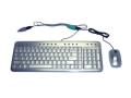 Multimedia Keyboard Combo w/Mouse, Aluminum, USB