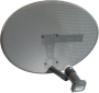 Zone 1 Sky or Freesat Dish and Quad LNB