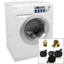 Haier Deluxe Washer/Dryer Combo w/ Bonus Portability Kit