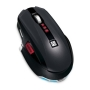 Microsoft SideWinder X8 Mouse - Mouse - optical - 7 button(s) - wireless - 2.4 GHz - USB wireless receiver - black