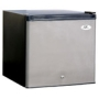 Sunpentown UF160S 1.6 Cu. Ft. Upright Compact Freezer with Manual Defrost & Adjustable Thermostat Control: Stainless Steel
