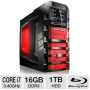 CybertronPC Beast TGM2131A Gaming PC - 2nd generation Core i7-2600K 3.40GHz, 16GB DDR3, 2x 64GB SSD, 1TB HDD, Blu-ray ROM, 2x NVIDIA GeForce GTX570 SL