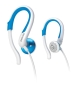 Philips Shs4843 Earphone - Stereo - Blue - Mini-phone Wired - 12 Hz 23.50 Khz -