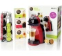 Nescafé Dolce Gusto - Mini Me Red & Black Coffee Machine with Starter Kit by Krups®