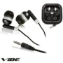 Vibe Noise-Isolating Deep Base Comfort Wear Earbuds With Case & 4 Extra Ear Gels!