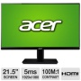 "Acer America ""Acer H6 Series H226HQLbid Black 21.5"""" 5ms (GTG) Widescreen LED"""