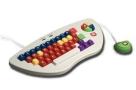 MyPC KEY-1-WHITE Stage 1 Toddler Keyboard - White