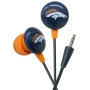 iHip NFL DENVER BRONCOS Ear Buds