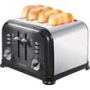 Morphy Richards 242002 Accents 4-Slice Toaster - Black