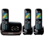 Panasonic KX-TG8523EB DECT Trio Digital Cordless Phone Set with Answer Machine - Black
