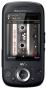 Sony Ericsson Zylo Handy (Multimedia, HSPA, Music Call, 3.2 MP) black
