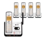 At&t Cl82509 Dect 6.0 Five Handset Cordless Phone System With Digital Answering Device And Caller Id CL82509