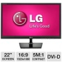 "LG E2242TC-BN TN+Film 21.5"" Black Full HD LED display"