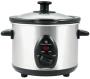 Lloytron E821 Automatic 1.5L Mini Slow Food Cooker 120W- Ceramic White