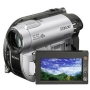 Sony Handycam DCR-DVD115E - Camcorder - widescreen - 800 Kpix - optical zoom: 40 x - DVD-R (8cm), DVD-RW (8 cm), DVD+RW (8cm), DVD+R DL (8cm), flash c
