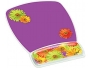 3M Designer Gel Mouse Pad with Wrist Rest, Daisy Design
