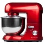 Andrew James 1500 Watt Electric Food Stand Mixer In Stunning Red With Splash Guard and 5.2 Litre Bowl + Spatula + 128 Page Food Mixer Cook