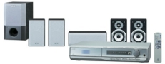JVC TH-M55 Executive Home Theater System (Silver)
