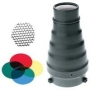 Photoflex Snoot for the Starflash Monobloc, with Insert Grids & Filters