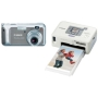 Canon - 5.0 Megapixel Powershot with Selphy CP720 Printer