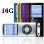 """G.G.Martinsen 16 GB Slim 1.78"""" LCD Mp3 Mp4 Player Media/Music/Audio Player with accessories-Silver Color"""