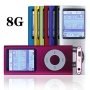 G.G.Martinsen 8GB Slim 1.78'' Screen MP3/MP4 Player Media/Music/Audio Player with Pink color