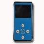 PLAYEASY200 Blue 4gb MP3 Player inc FM Radio + Built In Speaker + Voice recorder