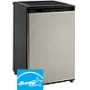 Avanti Refrigerator - 4.50 ft³ - Black, Stainless Steel RM4589SS-2