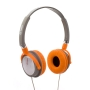 Breo De Janeiro Headphones - Orange/Grey