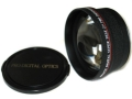 Bower Hi-Def 2x Telephoto Conversion Lens 72mm for Digital/Film Cameras in Black color