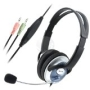 For Computer PC Skype VoIP Gaming Headset Headphone Mic