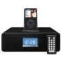 Docking Station For Apple iPod With Alarm Clock Radio / Black