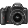 Pentax K-r Black Digital SLR with 18-55mm Lens