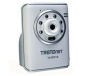 TRENDnet TV IP212W 2-Way Wireless Audio Internet Camera Server - Network camera - color - audio - 10/100, 802.11b, 802.11g