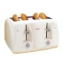 4 Slice Toaster- White