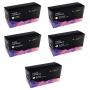 5 x CLP360 Cartouches Compatibles de Toner pour Samsung CLP-360, CLP-360N, CLP-365, CLP-365W, CLX-3300, CLX-3305, CLX-3305FN, CLX-3305N, CLX-3305W, CL