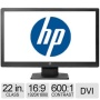 "HP V221 22"" Class LED Backlit Monitor - LCD Display, 16:9, 1920 x 1080, 16.7 million Colors, TN, DVI-D / VGA, Black - E2T08A6#ABA  5376227"